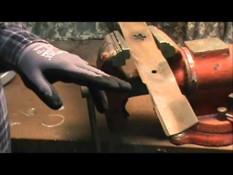 How To Diy Sharpening Lawnmower Blades Spring Is Coming Time To Fuel Up The Mower Don T Forget The Fuel Stabilizer To Lawn Mower Blade Mower
