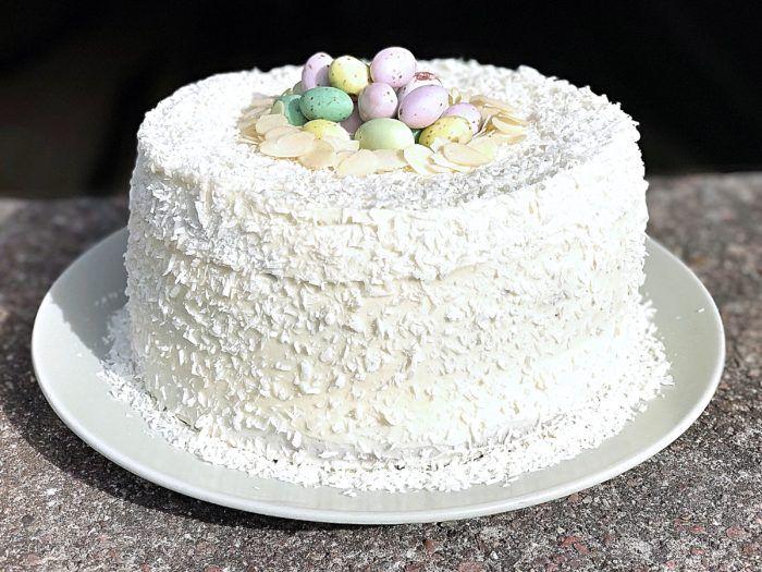 Glutenfri morotstårta