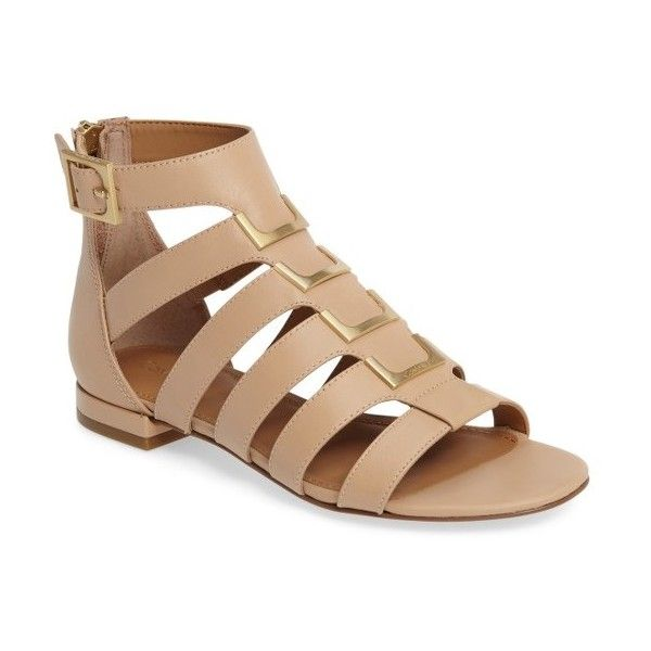 3caff81128a Women s Calvin Klein Estes Gladiator Sandal ( 104) ❤ liked on Polyvore  featuring shoes