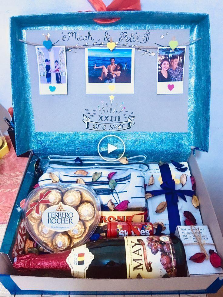 gift box for boyfriend #boyfriendgiftbasket