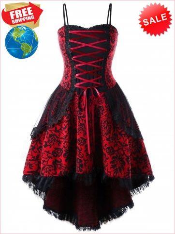 plus size lace up layered corset dress  victorian corset