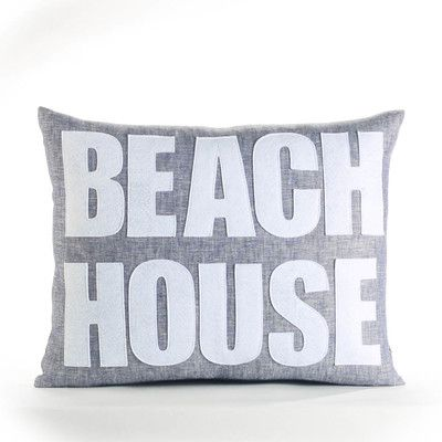 Alexandra Ferguson Space Defined Beach House Throw Pillow Color New Washing Decorative Pillows