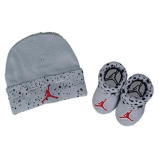 f86efec5b20 Jordan Cement Print Hat   Bootie Set - Boys  Infant at Kids Foot Locker
