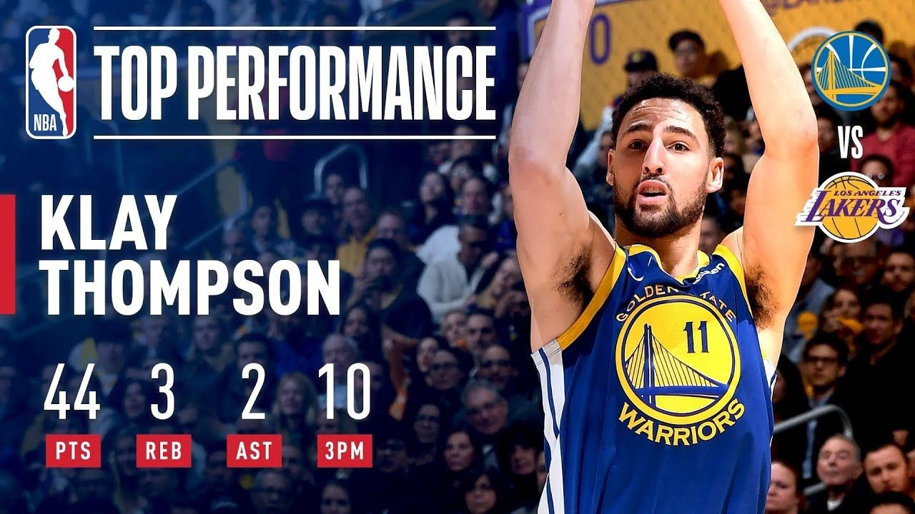 Klay Thompson Scorches The Net From Long Range January 21 2019 Nba Klay Thompson Scorches The Net From Long Range Ja Klay Thompson Nba Warriors Thompson