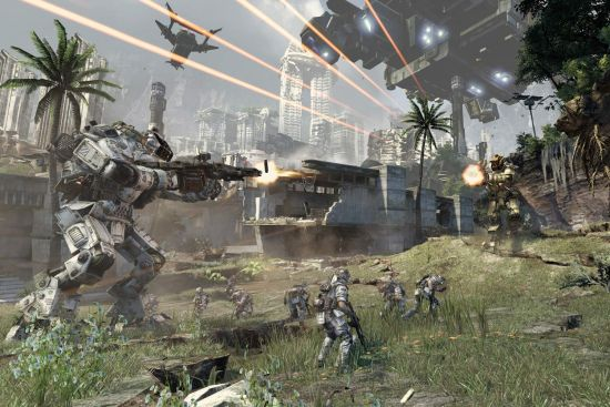 Sony S Playstation 4 Was The Top Selling Console In March But Titanfall Was The Top Selling Game Titanfall Titanfall Game Titanfall Xbox 360