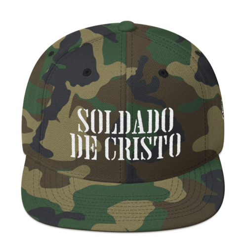 Gorra - Soldado de Cristo 89b28e64b47