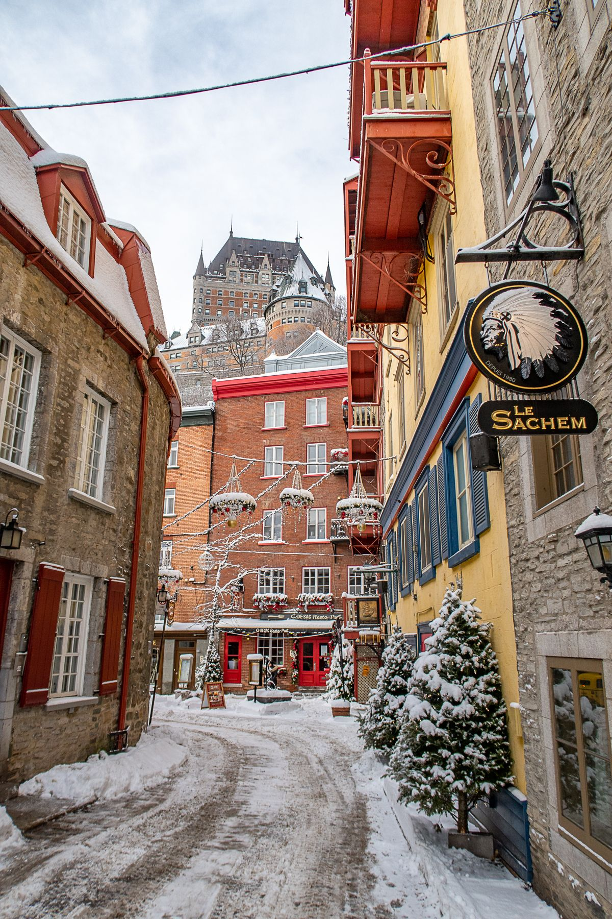 What to do in Quebec City in Winter | Quebec City Travel Guide