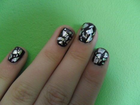 Completed Project: Nailart; 'The Broken Mirror' :) Picture #1