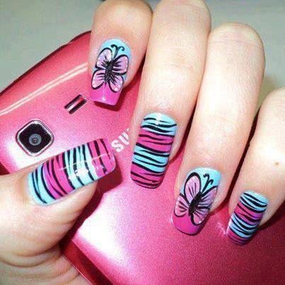 29 Amazing Nail Art - 29 Amazing Nail Art Colorful Nails, Style Nails And Art Nails