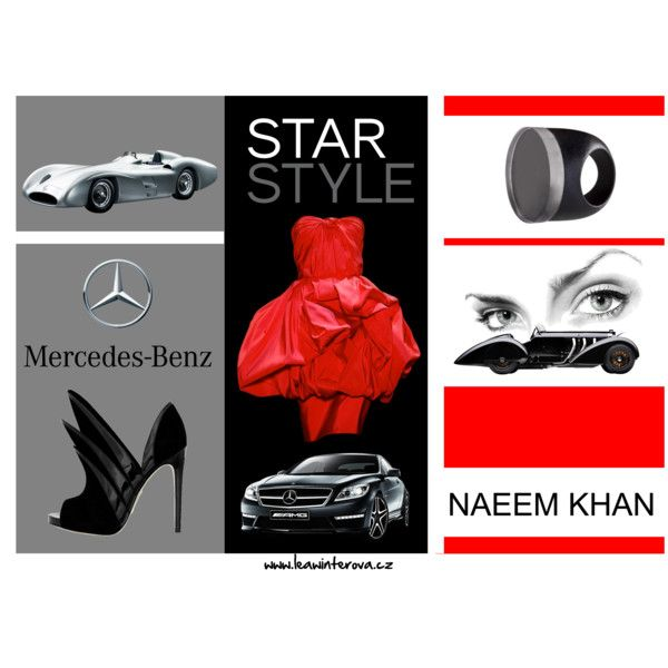 Really To Wear // Mercedes-Benz by leaw on Polyvore featuring Naeem Khan, MTWTFSS Weekday and Mercedes-Benz