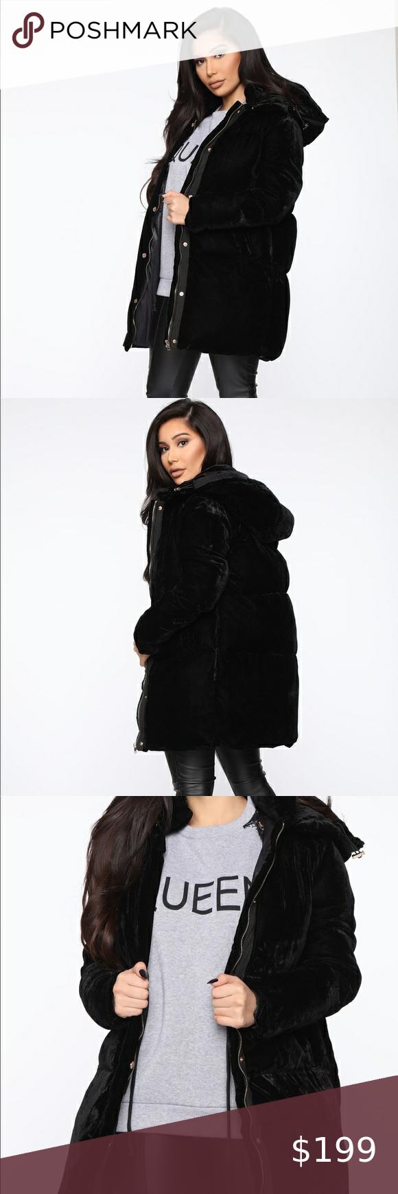 Velvet Puffer Chic Fashion Oversized Satisfaction Fashion Clothes Design Fashion Trends [ 1740 x 580 Pixel ]