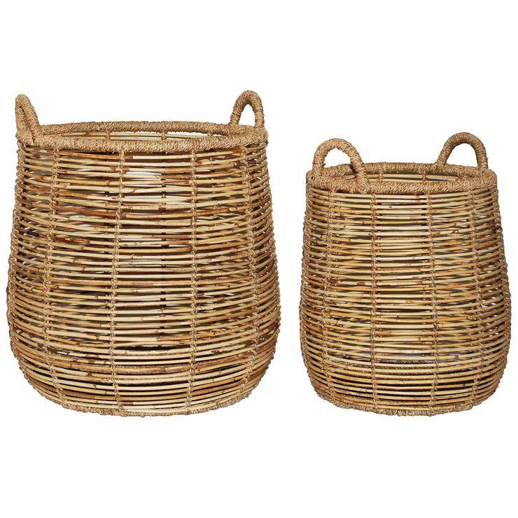 Open Weave Wicker Basket Wicker Wicker Baskets Basket