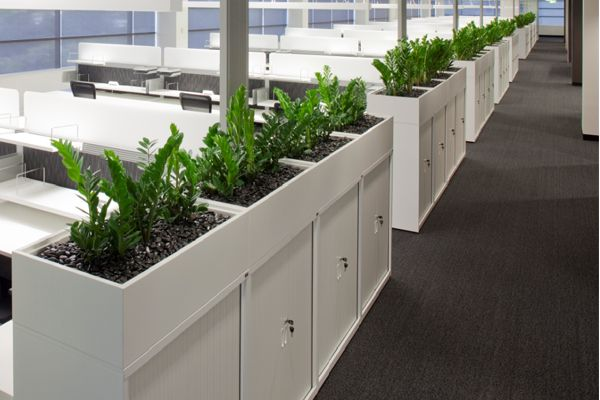 office planter. Mobile Or Fixed, CSM\u0027s Planter Boxes Can Even Double As Seating Office O