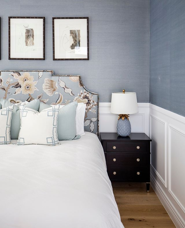 Hamptons Inspired Luxury Home Master Bedroom Robeson: Would You Like To Get This Look In Your Own Home? Our