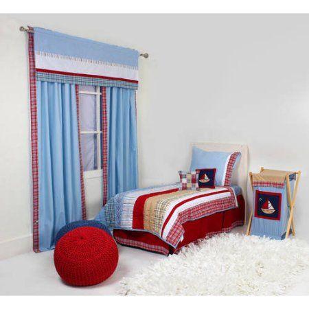 Aidan Crib Bedding Collection, Blue