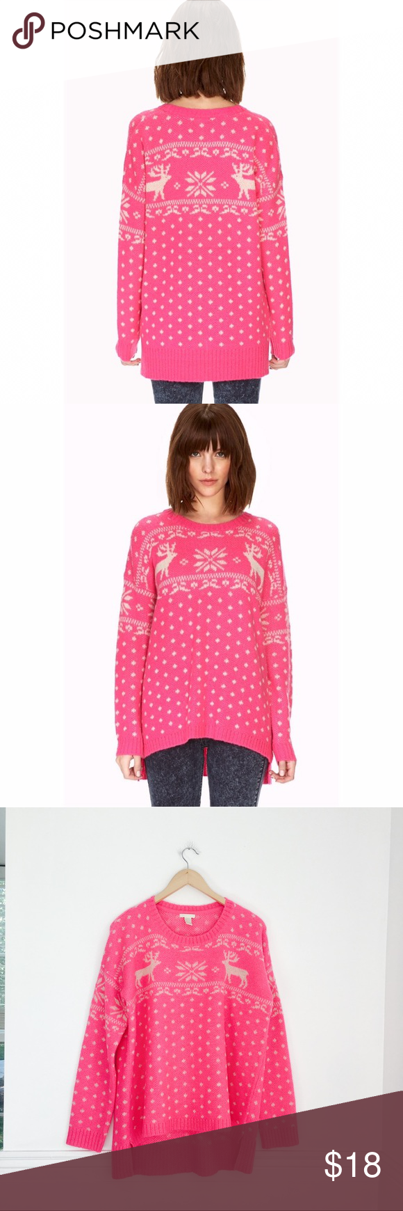 Holiday Sweater | Ugliest christmas sweaters, Bright pink and ...