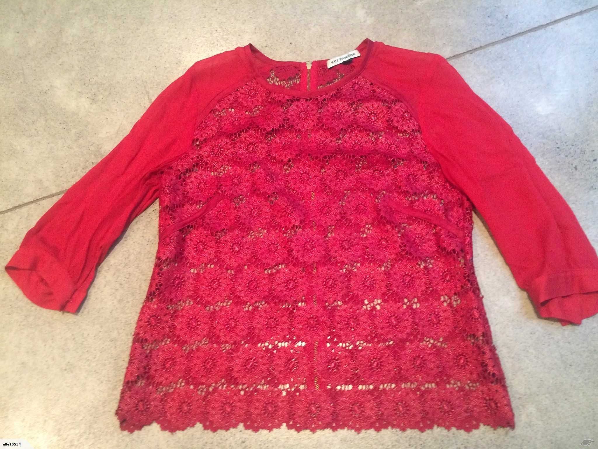 Kate Sylvester Lace Top   Trade Me