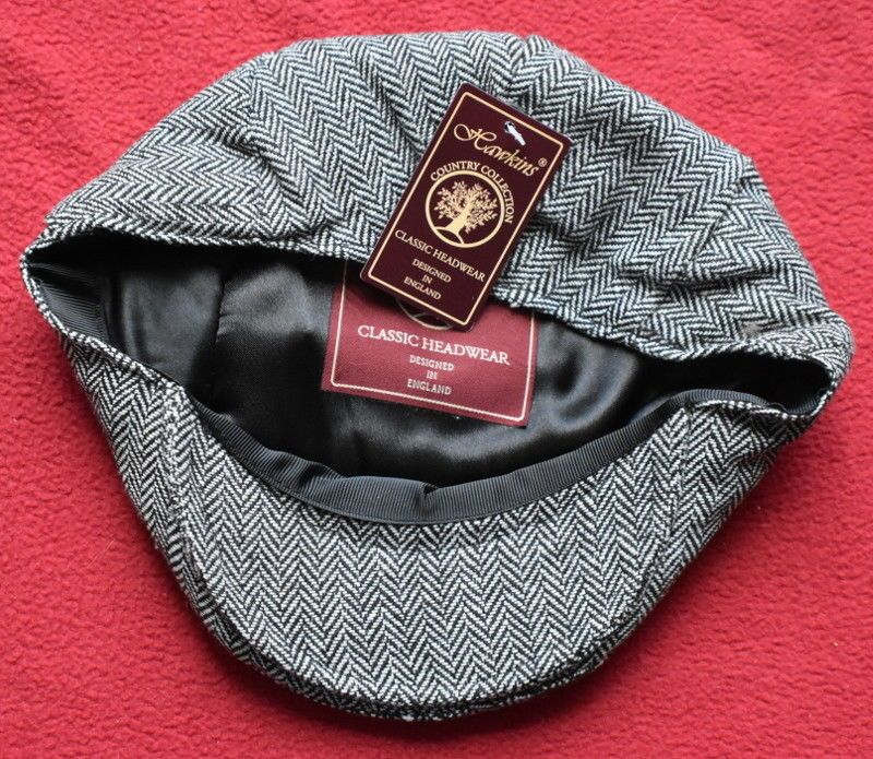 Unisex Hawkins Country Collection Classic Headwear Tweed Flat Cap ... 5fcb218ea3a