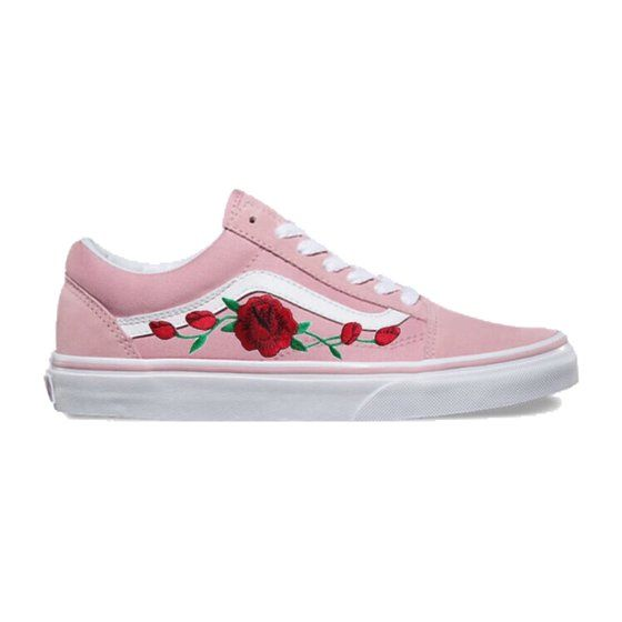 2e9b813ca9 Image of LIMITED EDITION Pink Old Skool Red Rose Rose Vans