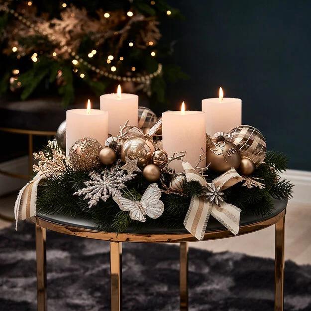 Adventskranz selbst dekorieren – DIY