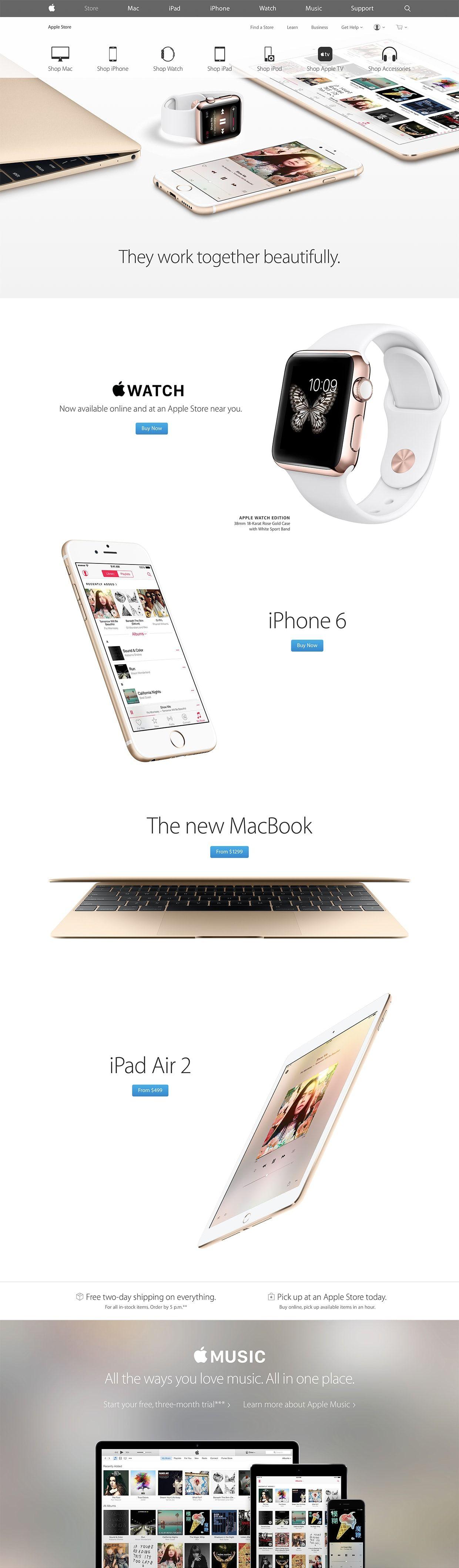 Apple Landing Page Design Inspiration Lapa Ninja Apple Design Ecommerce Web Design Landing Page Design