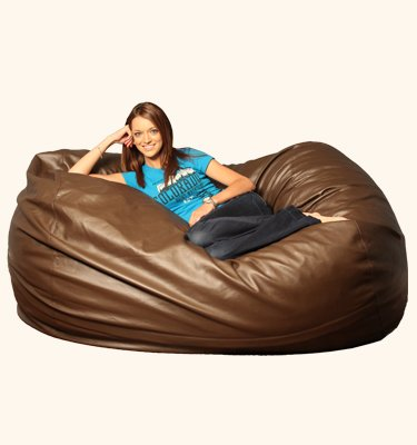 Groovy Bay Isle Home Breton Bean Bag Sofa Upholstery Faux Leather Pabps2019 Chair Design Images Pabps2019Com