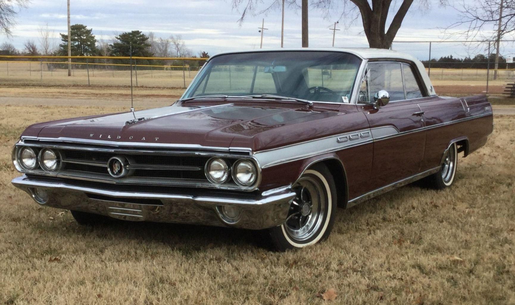 1963 Buick Wildcat Hardtop Buick wildcat, Buick, Classic
