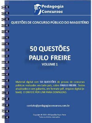 Apostila Paulo Freire Pedagogia Concursos Como Estudar Para