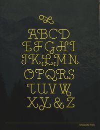 Kingdom Type Design on Typography Served