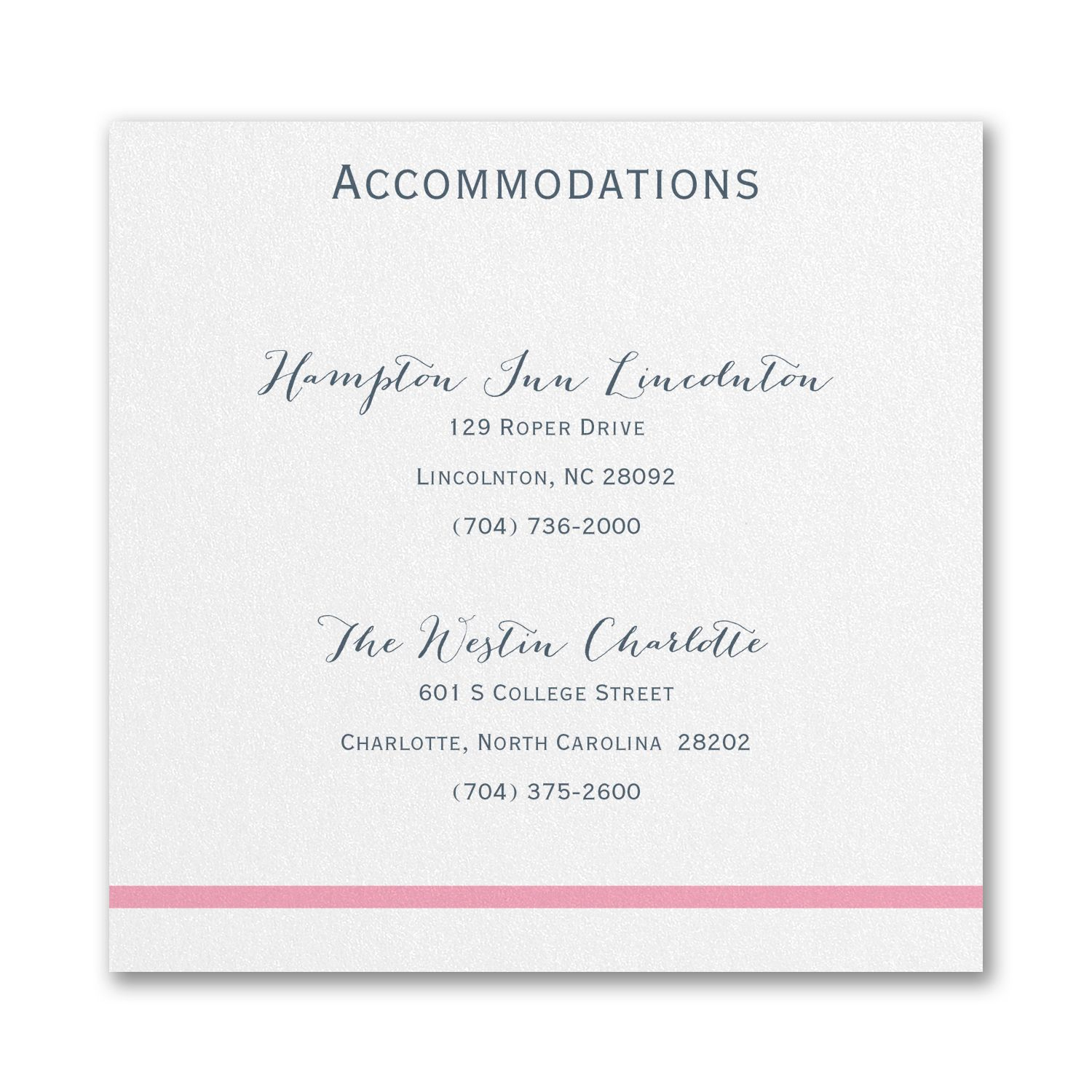 Loving Embrace - Accommodation Card. Available at Persnickety ...