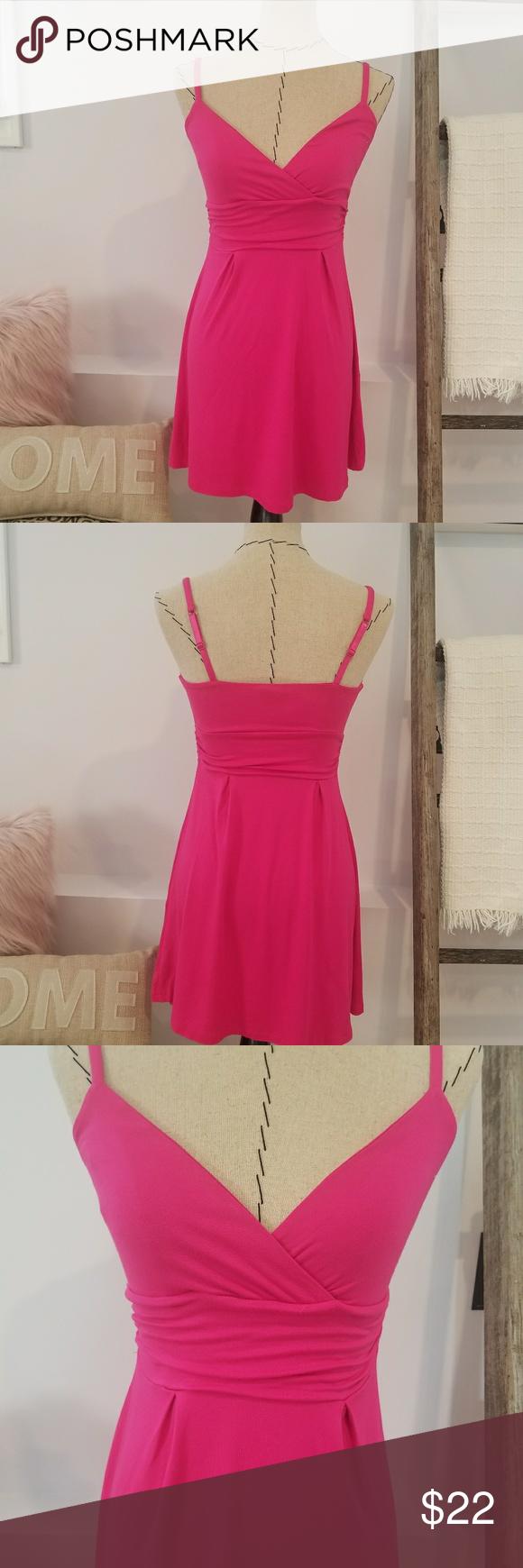 Pink dress with jean jacket  Express Pink Dress NWT  Pinterest  Stylish dresses Express