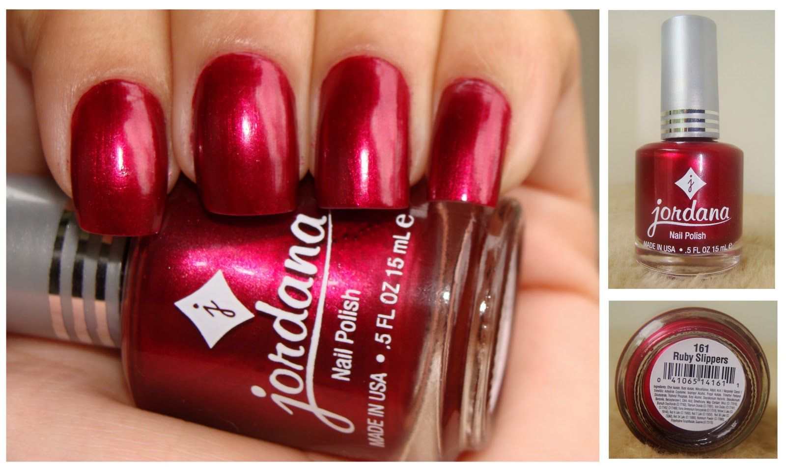 Ruby Slippers - Jordana Nail Polish | My blog posts | Pinterest ...
