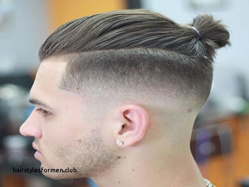 Nice Unique Fade Haircut Man Bun Check More At Https Hairstylesformen Club Fade Haircut Man Bun Man Bun Hairstyles Man Bun Haircut Mens Ponytail Hairstyles