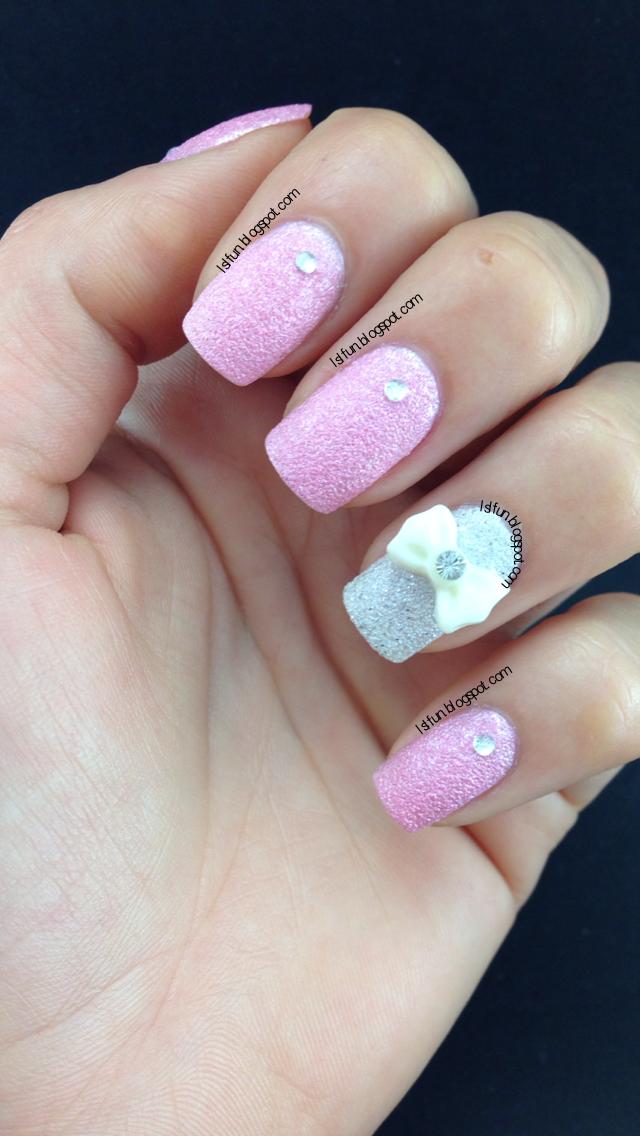 Trendy Cute 3D Bow Nail Art On Gel And Regular Nail Polish | NAILS ...
