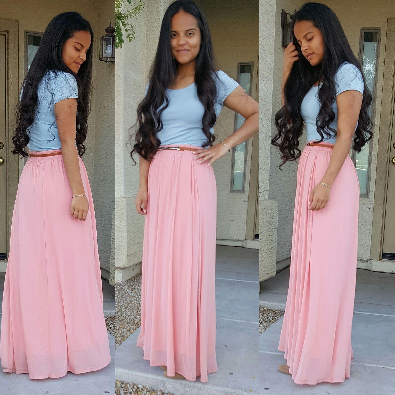 I ❤ pastel colors! | My Style | Pinterest | Ropa cristiana, Falda ...