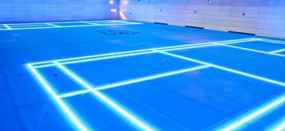 Indoor Tennis Lighting Led Court Lights Lines
