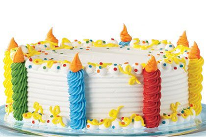 Dairy Queen Build A Cake Dairy Queen Cake Birthday Cake Decorating Buttercream Cake