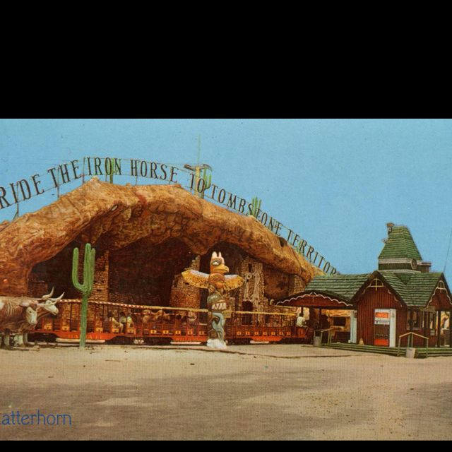 Tombstone Territory Theme Park From The Panhandle Area Of