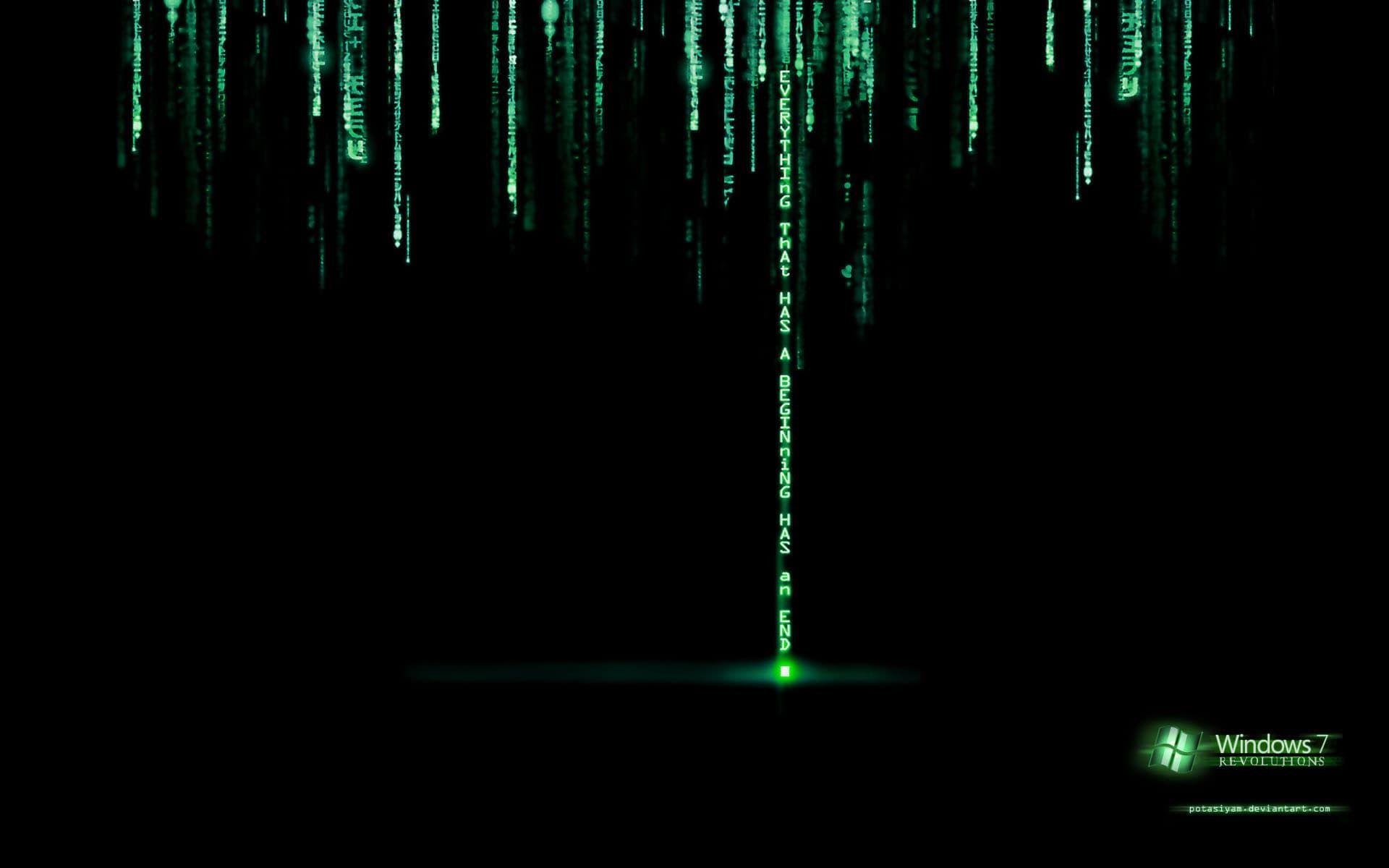 Matrix Black Windows Black Matrix Windows