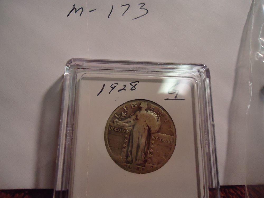 1928 standing liberty quarter m173 coins ebay