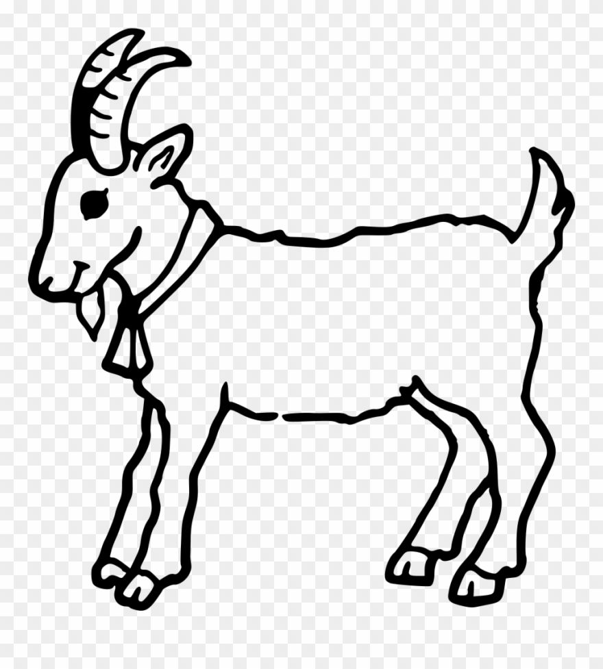 Download Hd Boer Goat Coloring Book Cute Colouring Anglo Nubian