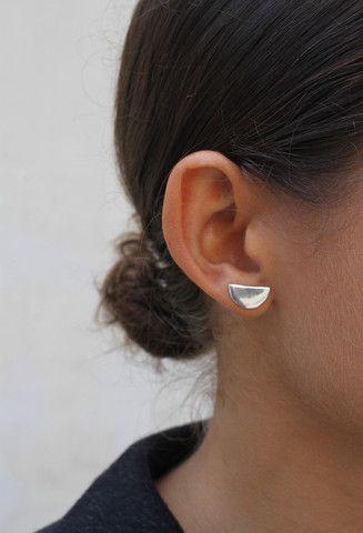 Faris Half Stud Earring
