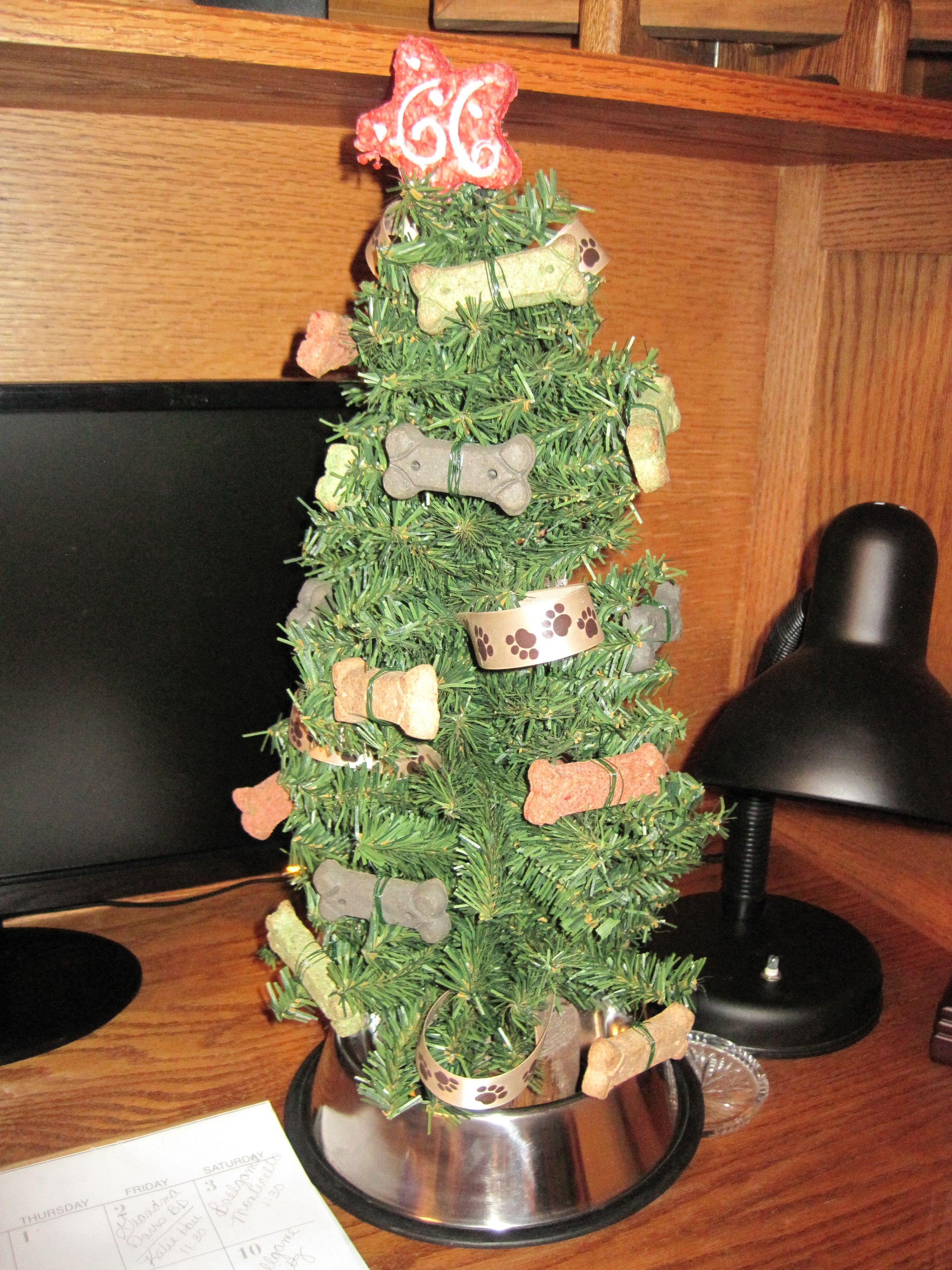 Dog Christmas Tree one for the pups to - I\'ll spend a little more ...