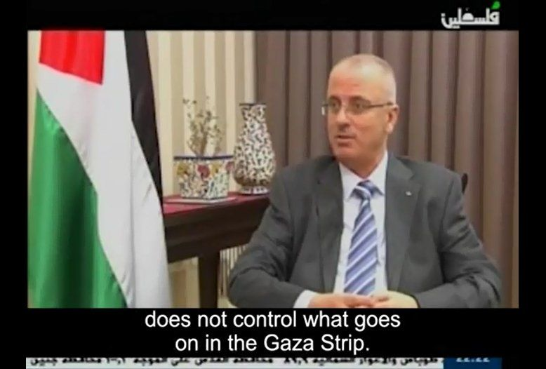 During an interview with the Palestinian prime minister, it was strongly hinted that Hamas had stolen food and medical aid intended for the citizens of Gaza.