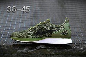 the best attitude eb1c5 53304 Mens Shoes Nike Air Zoom Mariah Flyknit Racer Olive Green Black White