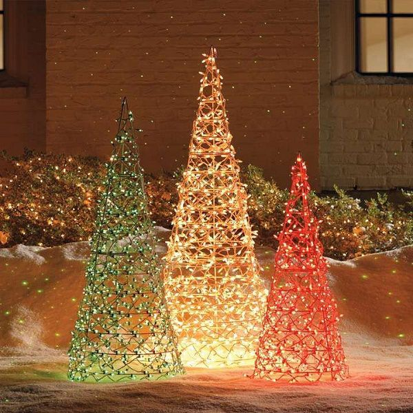 50 Best Outdoor Christmas Decorating Ideas 2015 Christmas Decorations Diy Outdoor Outdoor Christmas Tree Outdoor Christmas Lights