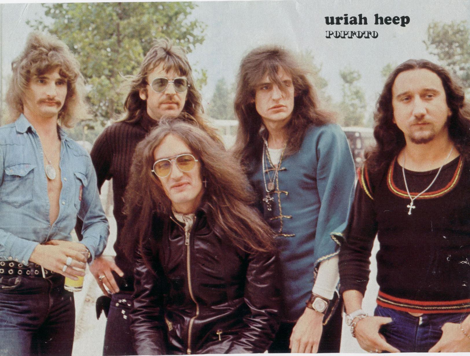 Uriah Heep | Heep, Uriah, Roxy music