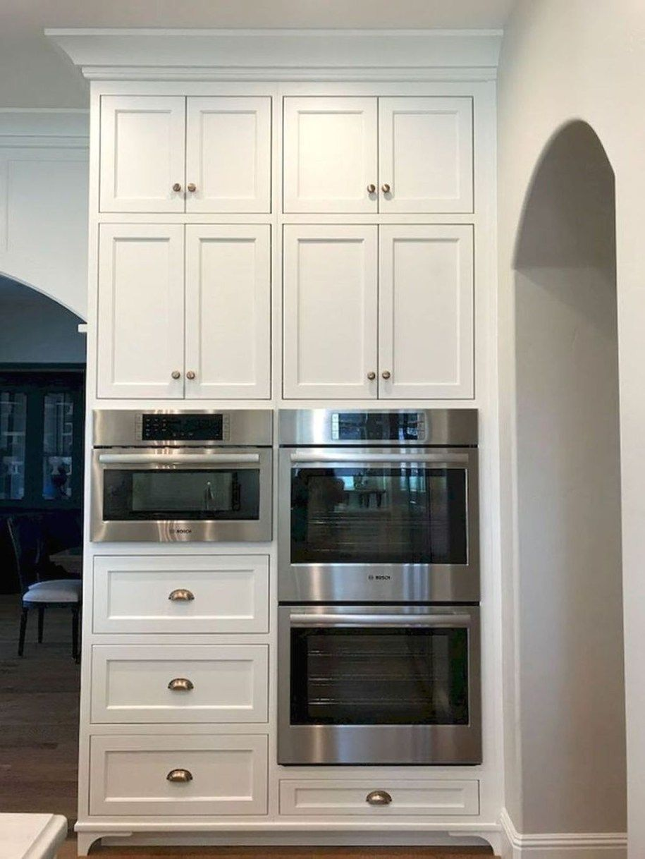 35 The Best White Kitchen Cabinet Design Ideas To Improve Your Kitchen Trendehouse Kitchen Renovation Refacing Kitchen Cabinets Kitchen Cabinet Design
