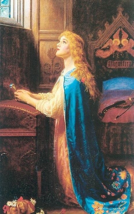 Image result for paintings of women praying