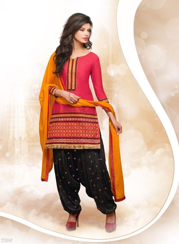 f0d0f993d2 New Indian Designer Salwar Kameez Dupatta Fancy Salwar Suit Patiala Cotton  #Unbranded #IndianPatialasalwarSuit